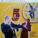 "10"" ✦ THE BARNSHAKERS ✦ ""5 Minutes To Live"" Top Rockabilly. Ltd Edition. Hear♫"